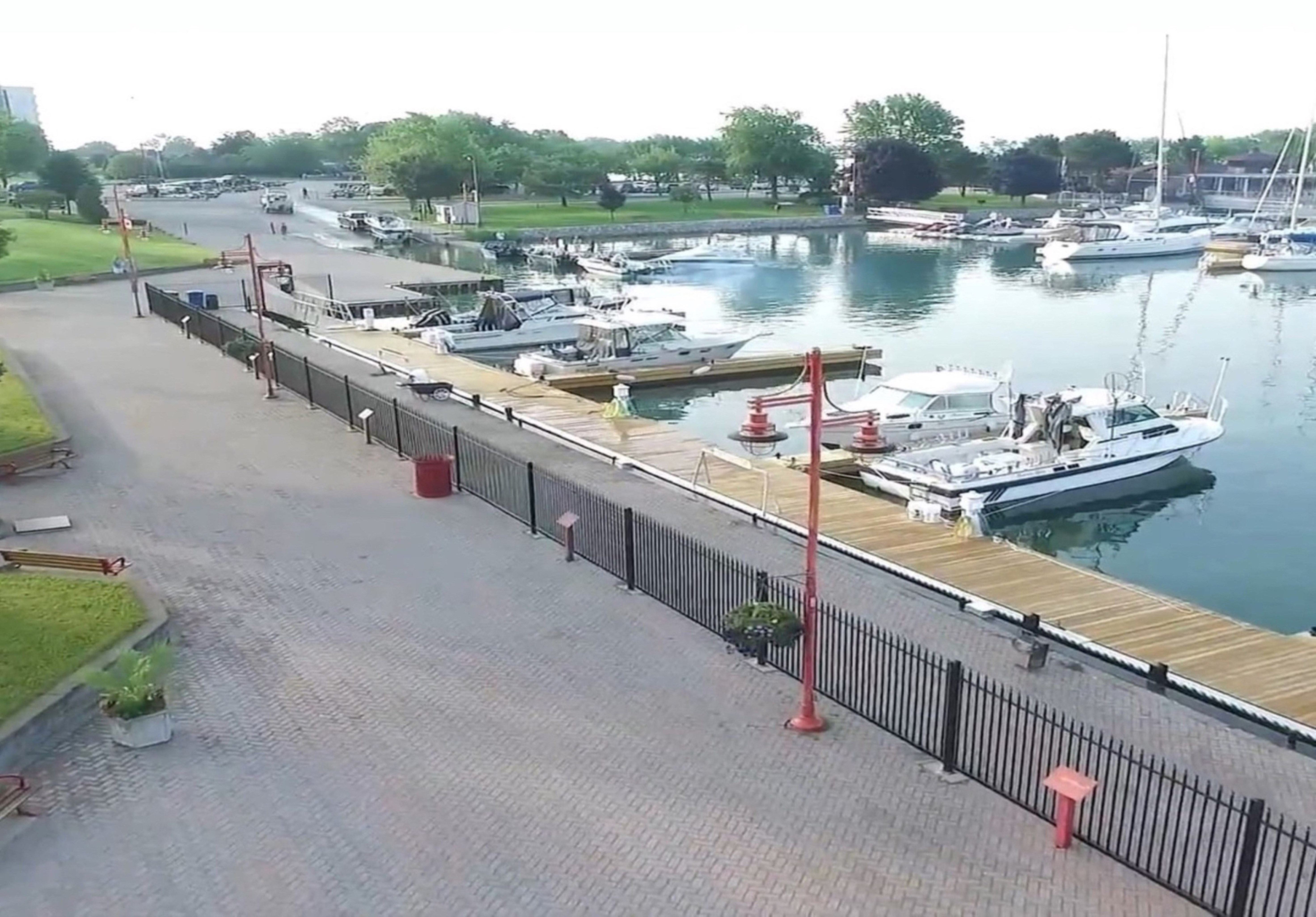 Boat Ramp And Fishing Docks