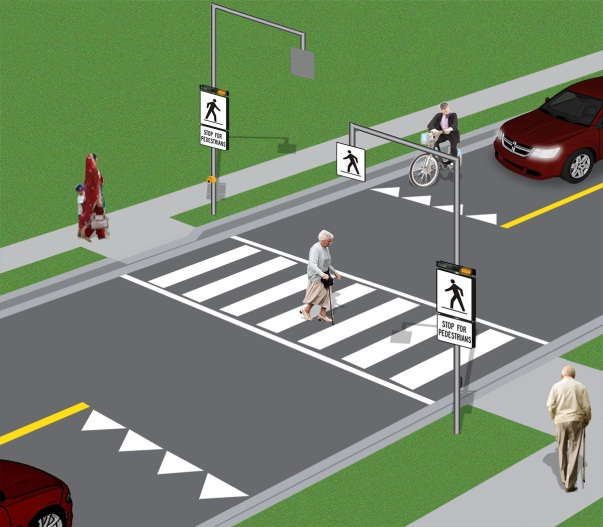 Image of Pedestrian Cross Over
