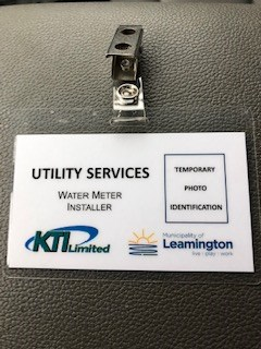 KTI Identification Badge